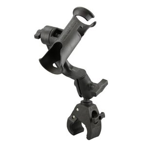 [RAM® MOUNTS] RAM® Tube Jr.™ Rod Holder with Revolution Arm and RAM® Tough-Claw™ Base - 낚시대 거치대